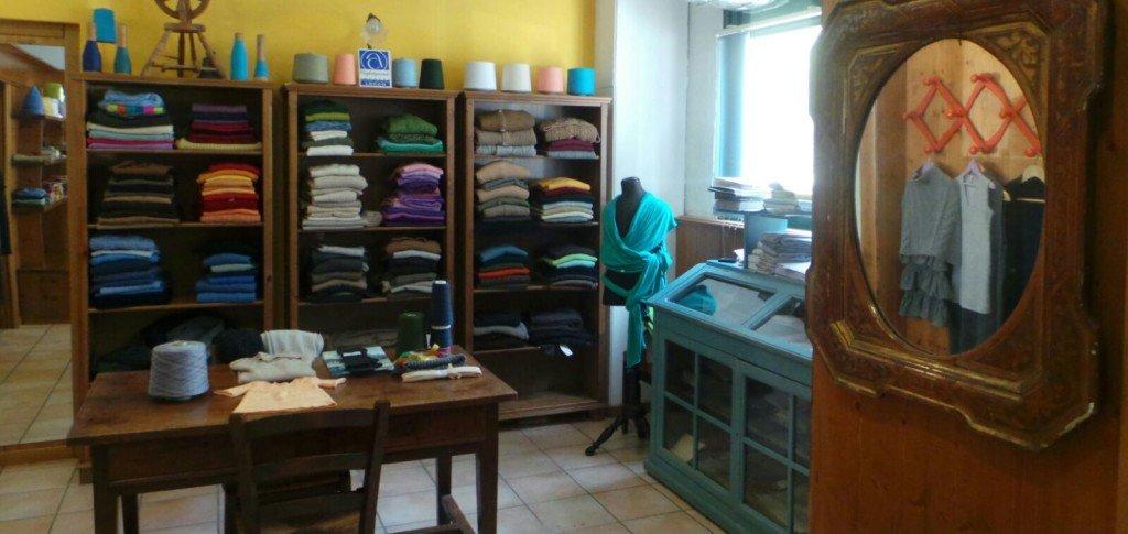 Cashmerefolie: l'azienda e lo showroom