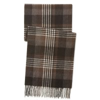 Men's Exploded Plaid Cashmere Scarf by Phenix
