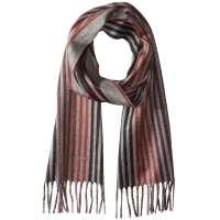 Salvatore Ferragamo Multi-Stripe Scarf for Men - Cashmere ...