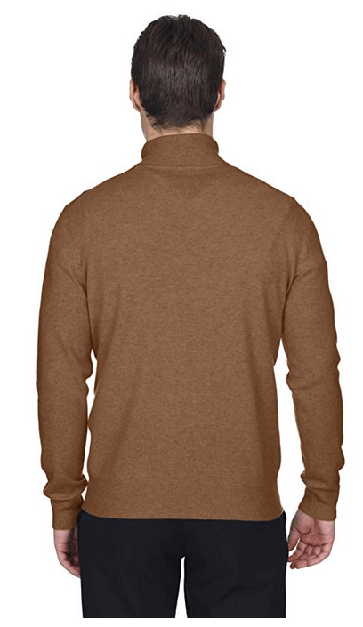 State Fusio Mens Basic Crewneck Jumper Cashmere Merino Wool Sweater Long Sleeve Pullover