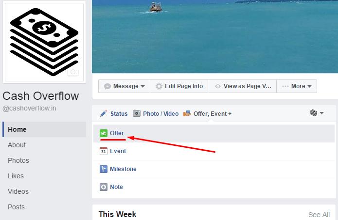 facebook make an offer
