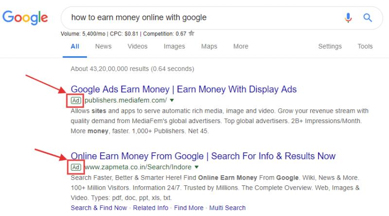 Google Adword (Ads)