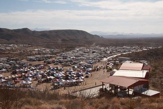 The site of Rancho CASI de los Chisos Terlingua, Texas.