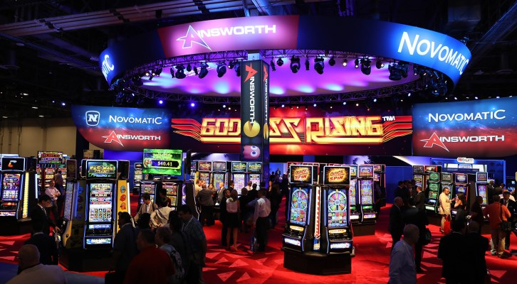 NOVOMATIC hails first joint booth at G2E with Ainsworth
