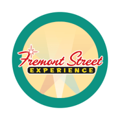 freemont street experience on yellow circle