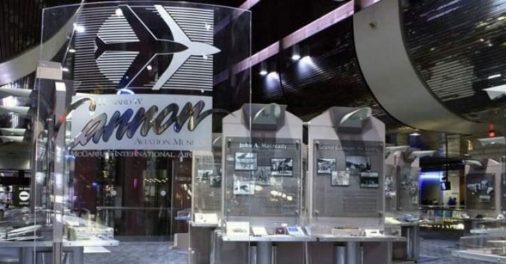 The Howard W.Cannon Aviation Museum in Las Vegas