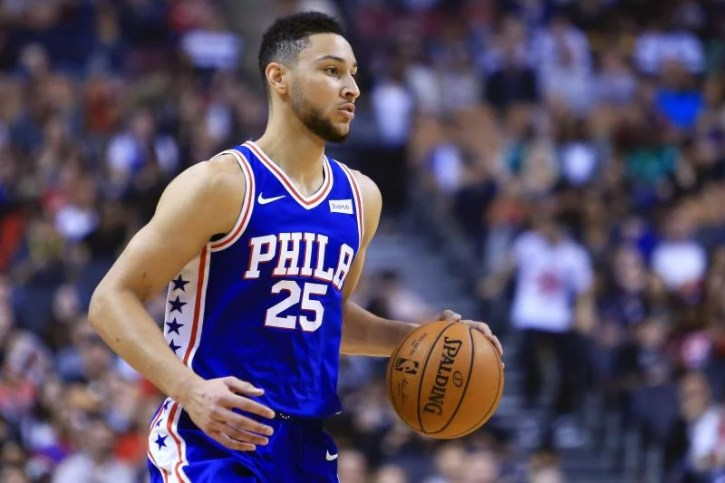 Ben Simmons, point guard for the Philadelphia 76ers