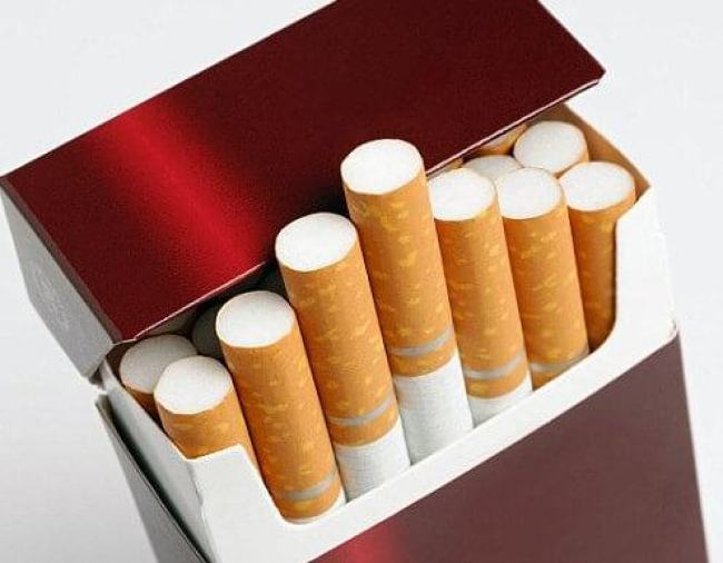 A cigarette pack that can be used to scam a casino