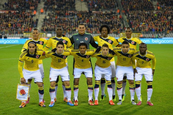 An image of the recent Colombian national team
