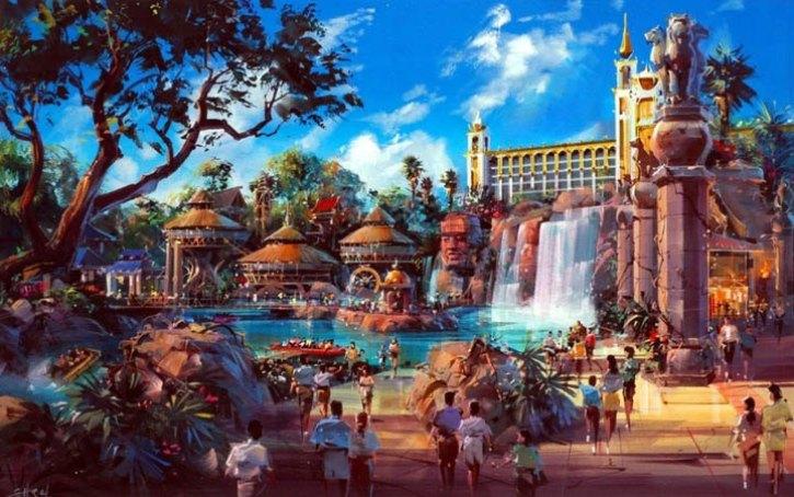 The Desert Kingdom resort that didn't reach the Vegas strip