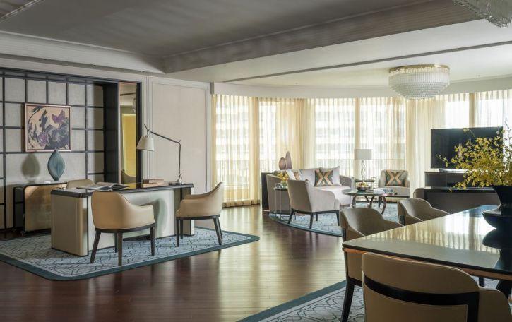 The Four Seasons Presidential Suite in Macau