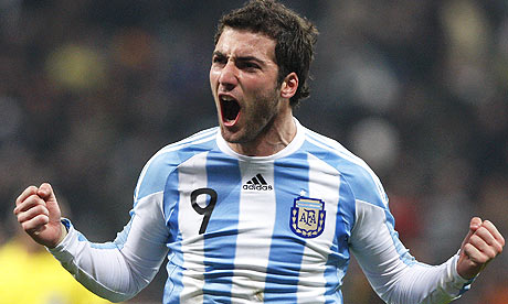 Gonzalo Higuain Argentina 2014 World Cup