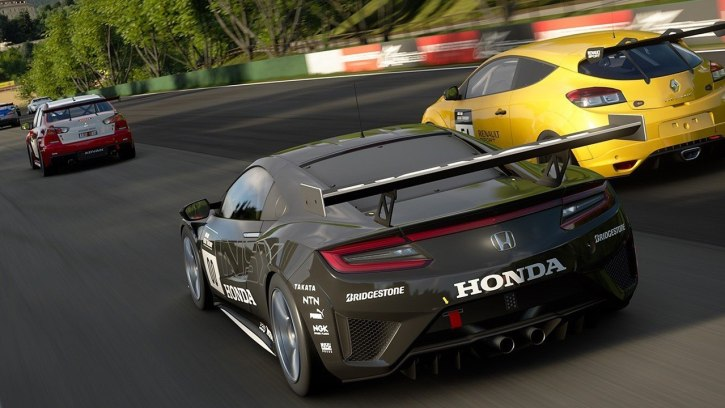In-game shot from the video game Gran Turismo