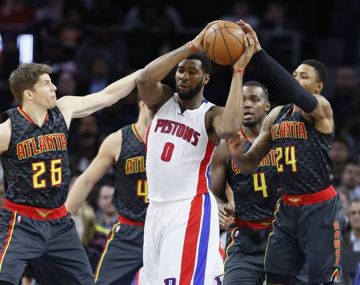 In-game action from an NBA game