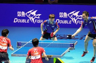 Hyundeok Seo & Eonrae Cho of South Korea won the men's doubles title in 2014 (Image: Yuan-Kwan Chan / Meniscus Magazine)