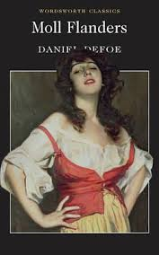 book cover of Daniel Defoe's Moll Flanders