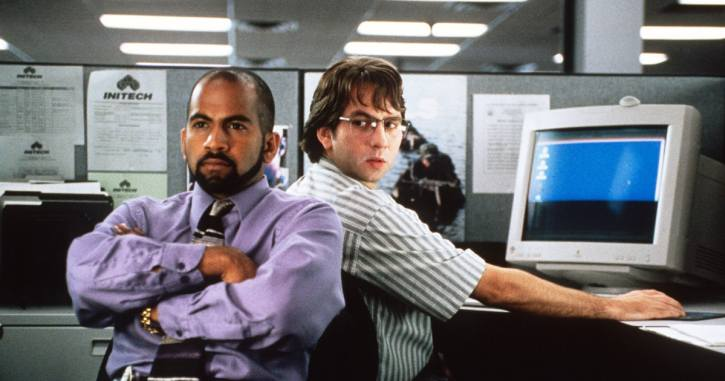 Characters from the film Office Space