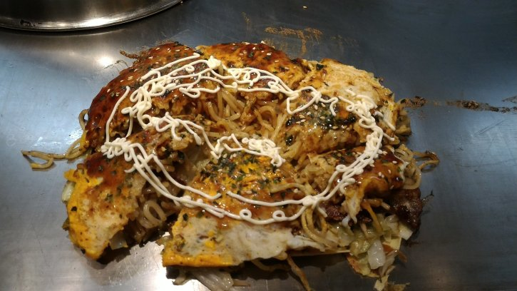 A famous dish served at Mazda Zoom-Zoom Stadium in Hiroshima