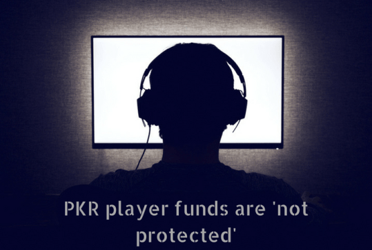 no guarantees over PKR customer funds