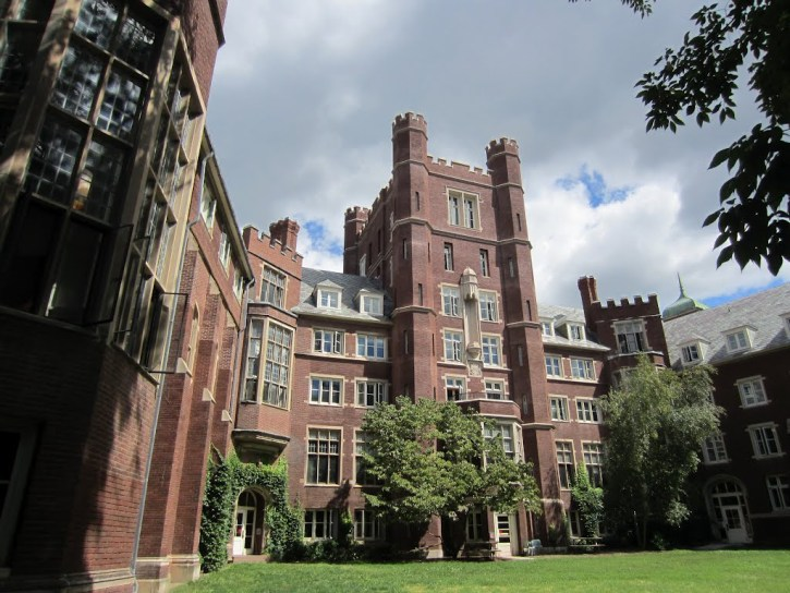 Risley Hall residence in New York, where an illegal meth lab was found
