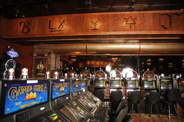 Dentro del Stockmen's Casino en el Hotel Elko