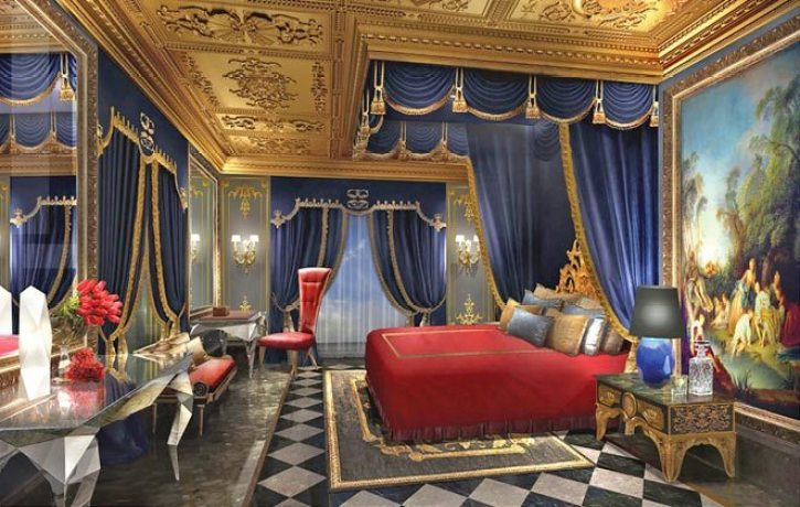 La Villa Du Comte Suite inside The 13 resort in Macau