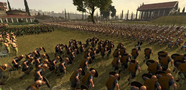 Gameplay from the Total War: Arena beta