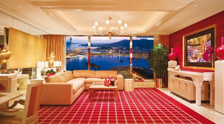 Inside a Grand Salon Suite at the Wynn Macau
