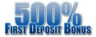 First-time deposit bonus