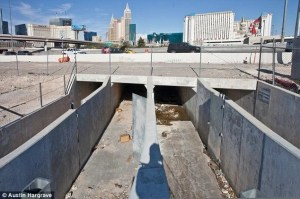 """Tunnels In Las Vegas"" (Image: dailymail.co.uk)"