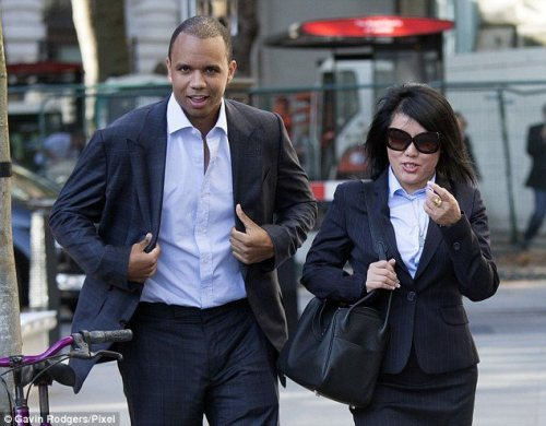Phil Ivey before his hearing at the UK Supreme Court
