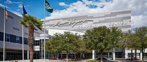 The Las Vegas Convention Center is the third largest in America.
