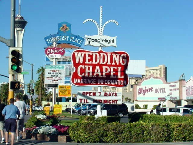 Vegas Weddings Drive Thru