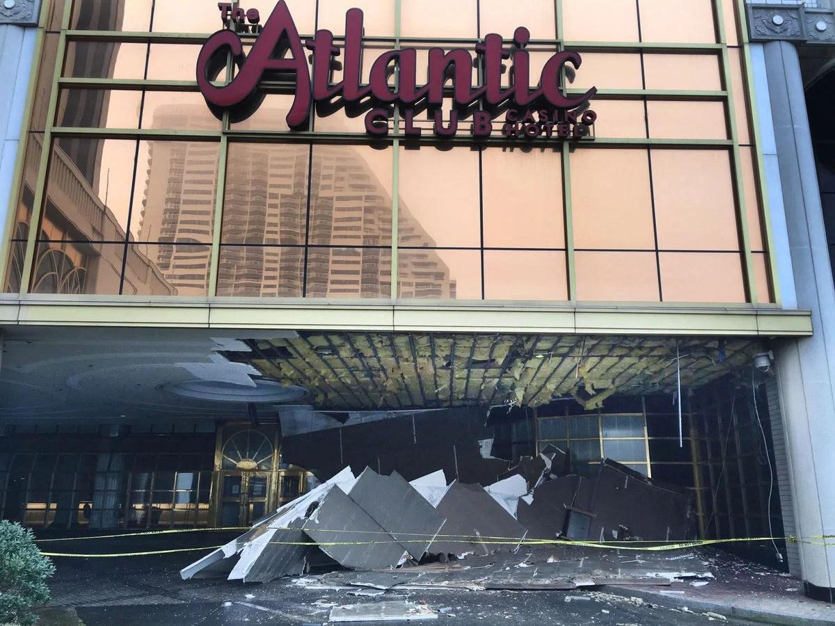 Shuttered Atlantic Club Casino Hotel Falling