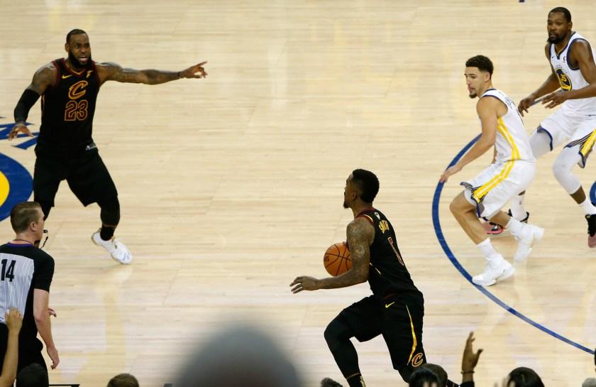 NBA odds Finals Cavs Warriors