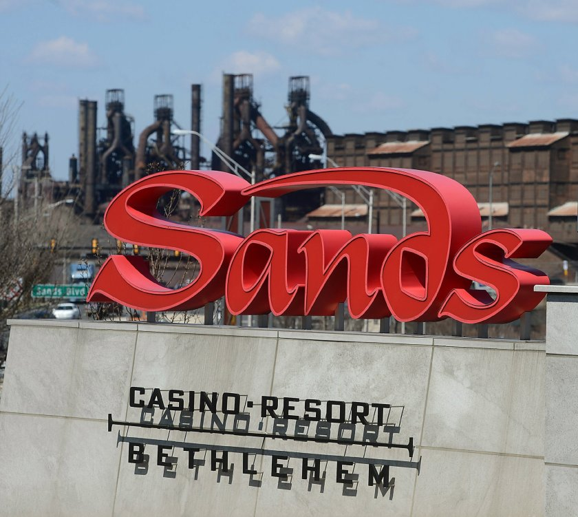 Sands Bethlehem five-year license renewal