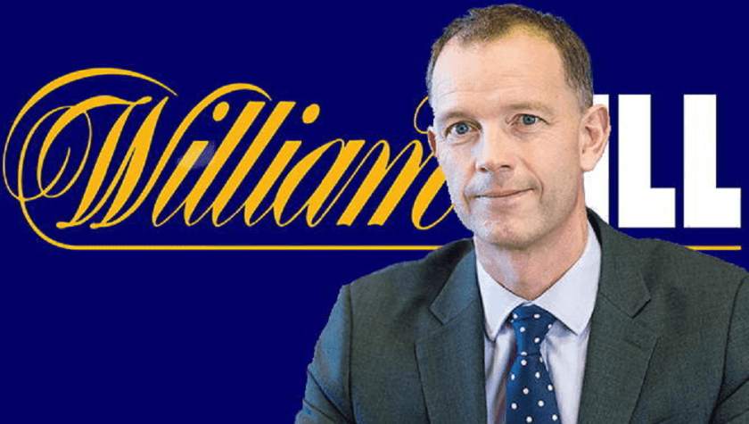 William Hill CEO Philip Bowcock