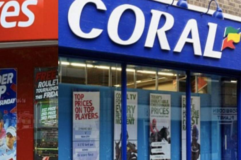 GVC Holdings Ladbrokes Coral takeover