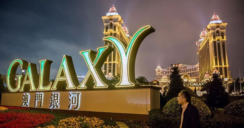 Macau casinos November gambling revenue