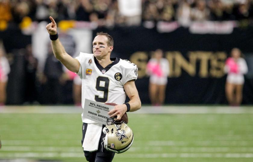 New Orleans Saints NFL odds playoffs