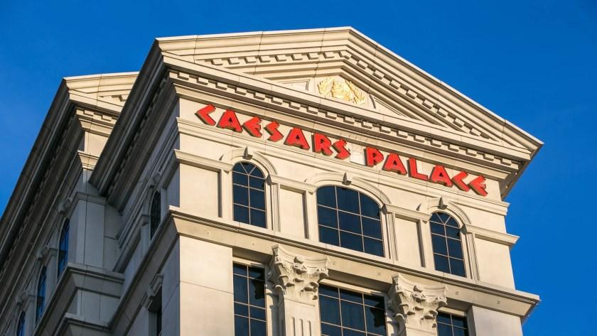 caesars stock gaming industry shares