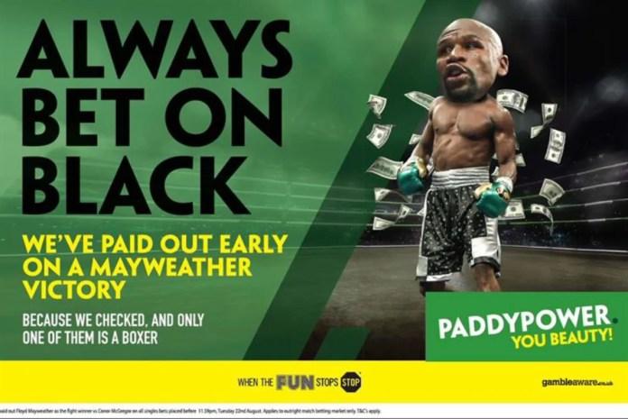 Michael Higgins Ireland betting advertising