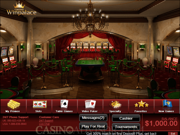 Win Palace Casino Review - www.winpalace.com - Top Rated ...