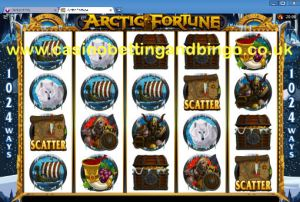 Artic Fortune Slots Game Screenshot
