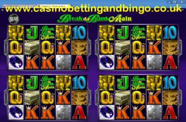 Break Da Bank Megaspin Slots Screen