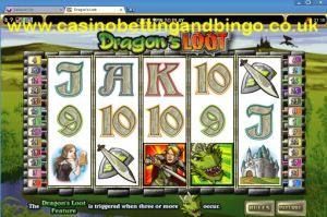 Dragons Loot Online Slots Screenshot