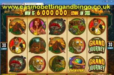 The Grand Journey Video Slots Screenshot