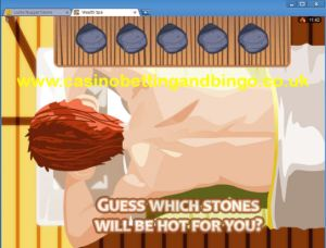 Wealth Spa Slots - Hot Stone Bonus Screen