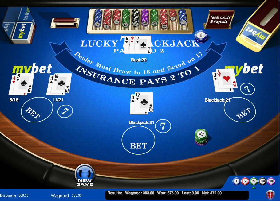 Lar?win extra large payouts with lucky lucky blackjack eagle