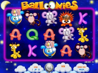 Balloonies casino slot game review
